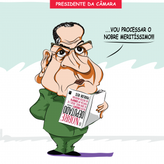 Charge do Dia: Livro