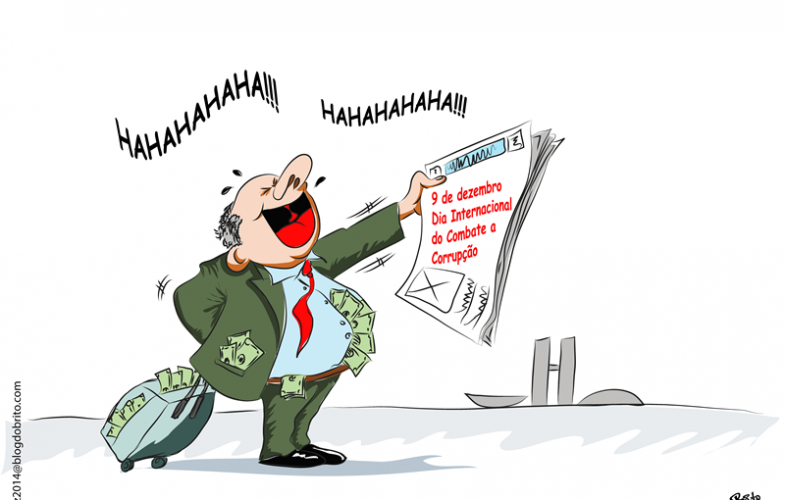 Charge do Dia: Corrupção