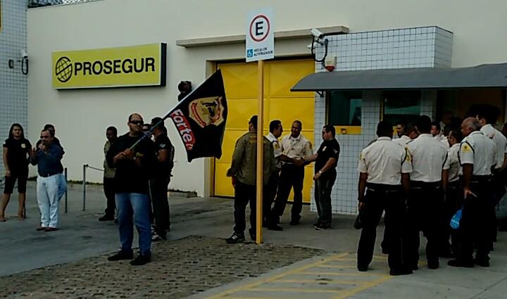 SindForte faz ato de protesto contra Prosegur