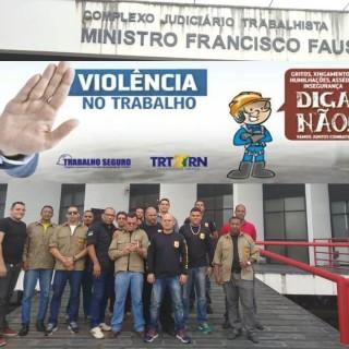 TRT,  LANÇA CAMPANHA, 2018-2020 SOBRE, VIOLÊNCIA NO TRABALHO, ENFRENTAMENTO E SUPERAÇÃO